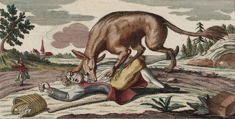 Le Musée fantastique de La Bête du Gévaudan See page for author [Public domain], via Wikimedia Commons