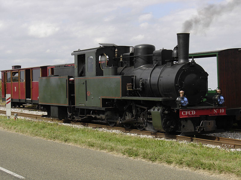 Le P'tit Train de la Haute Somme By Hektor CC BY-SA 2.5 via Wikimedia Commons