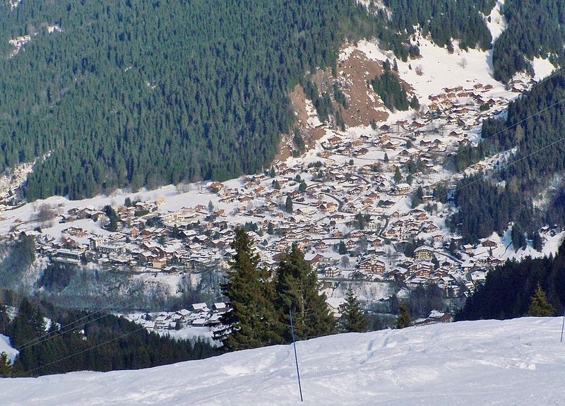 Les Contamines Montjoie By Florian Pépellin CC BY-SA 3.0 via Wikimedia Commons
