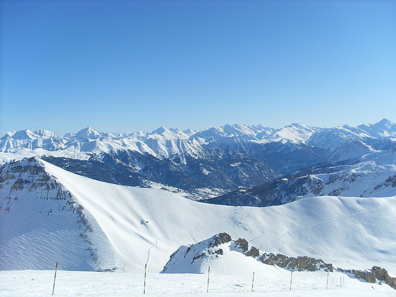 Serre Chevalier By Fredrik Lähnn via Wikimedia Commons