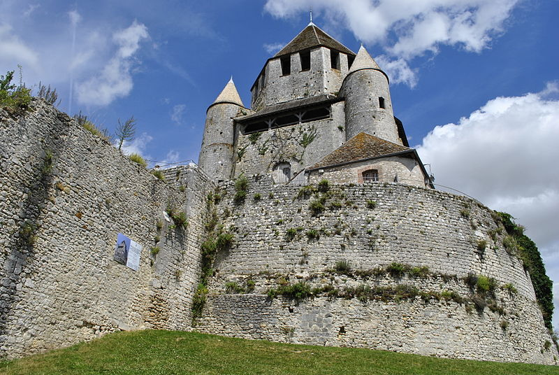 Tour César (Provins) Par Tatiana Decrocq CC BY-SA 3.0 via Wikimedia Commons