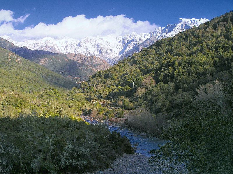 La vallée du Fango By Pierre Bona CC BY-SA 3.0 via Wikimedia Commons