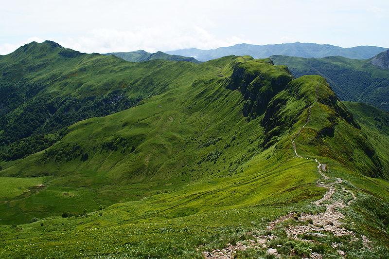 Parc naturel régional des Volcans d'Auvergne By Herbythyme via Wikimedia Commons
