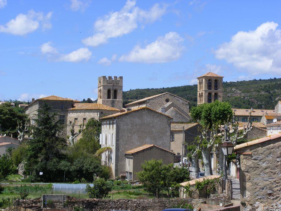 Le village de Caunes-Minervois