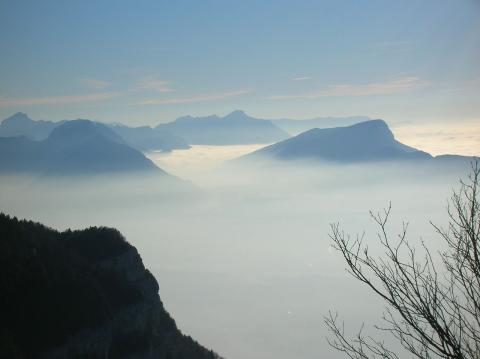 Parc naturel régional du Massif des Bauges via wikipédia