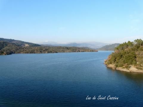 Le lac de Saint Cassien
