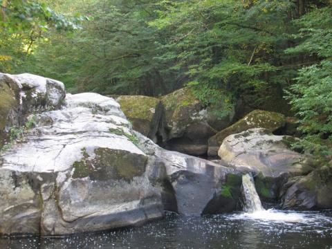 La cascade du Saut de la Brame
