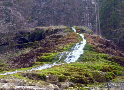 La cascade d'Etufs