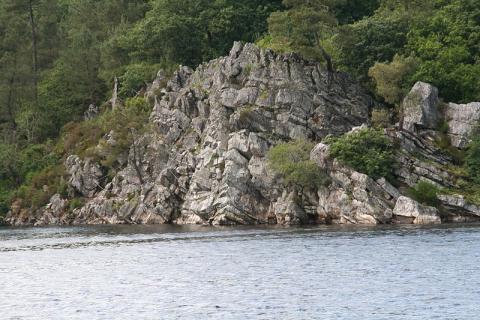 le lac de Guerlédan