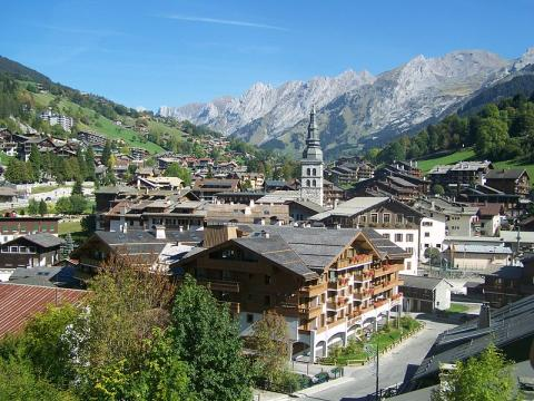 La Clusaz By Florian Pépellin CC BY-SA 3.0 via Wikimedia Commons