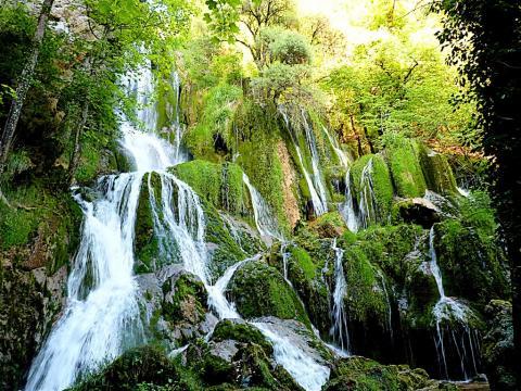 La cascade de Syratu