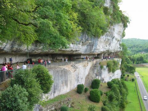 Grotte de Roque Saint Christophe