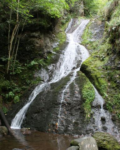 La cascade du Trou de la Conche