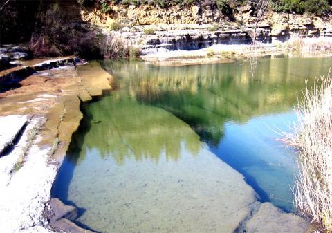 Les cascades de la Nielle à Saint-Laurent-de-la-Cabrerisse