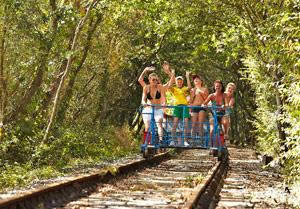 Velo-Rail du Bocage photo de velorail-vendee.fr