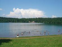 Plage du lac du Bouchet