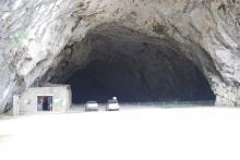 Entrée de la grotte de Bédeilhac