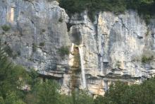 La cascade de Cerveyrieu
