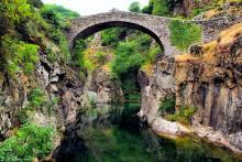 Le Pont du diable de Thueyts