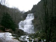 Cascade du Hérisson (Jura) - l'éventail