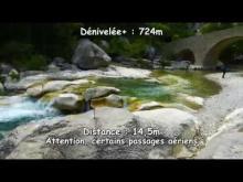 Vidéo Randonnée dans les Gorges de la Meouge