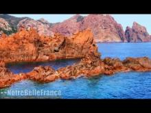 La Réserve naturelle de Scandola en Vidéo