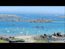 Vidéo Les rochers de Brignogan