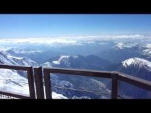 Vidéo à l'Aiguille du midi en 2010 Chamonix Mont Blanc