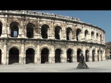 Arènes de Nîmes en vidéo