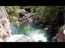 Les cascades de Purcaraccia en Vidéo
