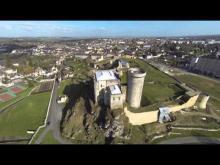 Château de Guillaume-le-Conquérant (Falaise) en vidéo