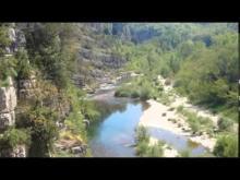 Vidéo des Gorges de la Beaume