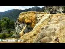 La Fontaine pétrifiante de Réotier en Vidéo