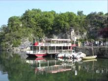 Le Bateau à roue de Royans en vidéo