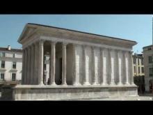 Maison Carrée à Nîmes en vidéo