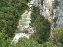 Vidéo Gorges de l'Aiguillon - les Concluses