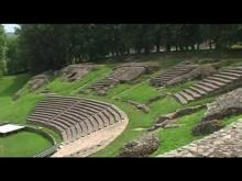 Théâtre romain d'Autun en vidéo