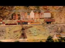 Chemin de fer miniature de clecy en vidéo