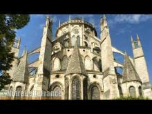 La cathédrale Saint-Etienne de Bourges en Vidéo