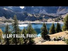 Vidéo du lac d'Allos