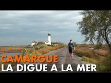 Vidéo de la digue à la mer