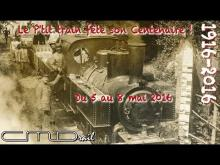 Le P'tit Train de la Haute Somme en vidéo