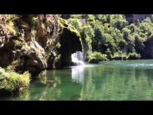 Cascade de Saint-Chély-du-Tarn en vidéo