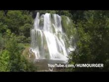 vidéo de la cascade de Glandieu