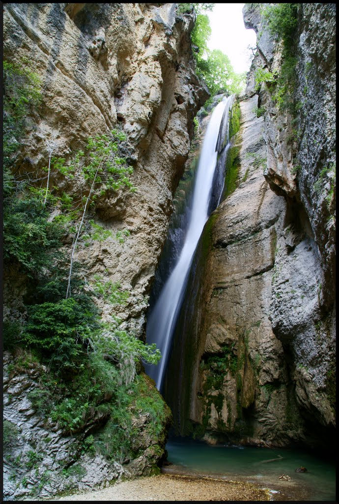 16 La cascade de la Druise