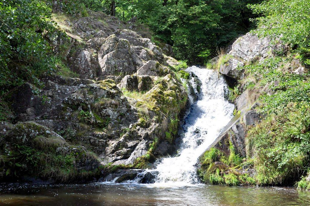 5 La cascade du saut de Gouloux