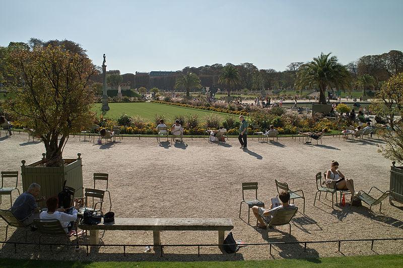 Jardin du Luxembourg By Traktorminze CC BY-SA 3.0  via Wikimedia Commons