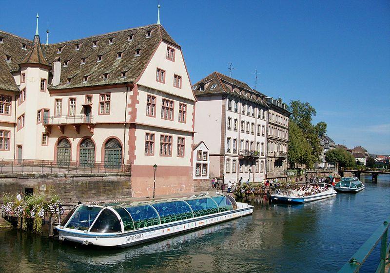 Strasbourg au Fil de l'Eau avec Batorama By Kevin.B (Own work) CC BY-SA 3.0 via Wikimedia Commons