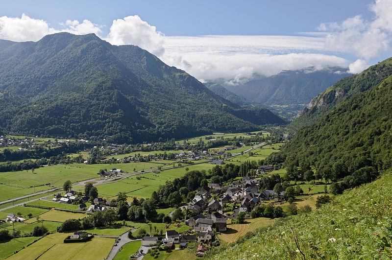 Vallée d'Ossau Photo: Myrabella/Wikimedia Commons, via Wikimedia Commons