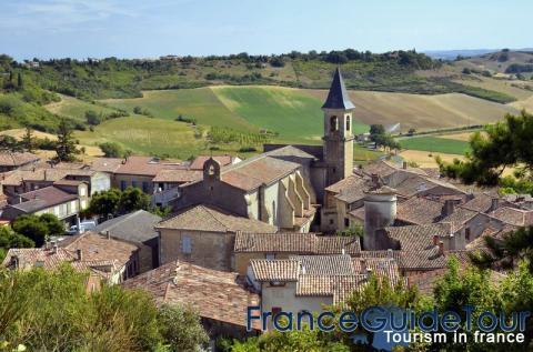 Le village de Lautrec